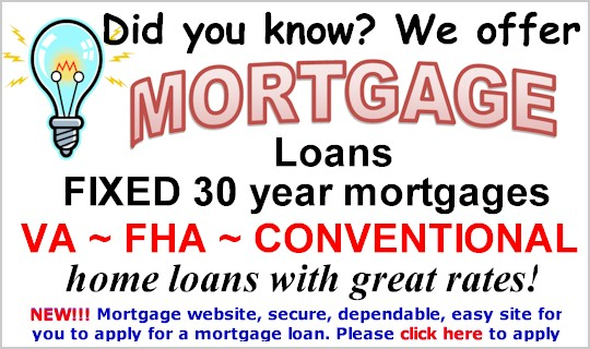 Did you know? We offer Mortgage Loans!